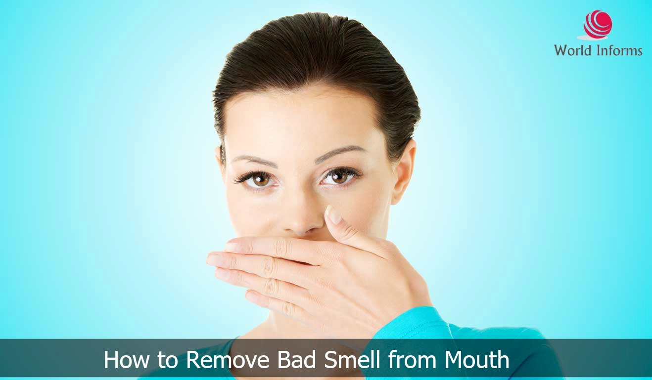 How To Remove Mouth Smell Home Remedies