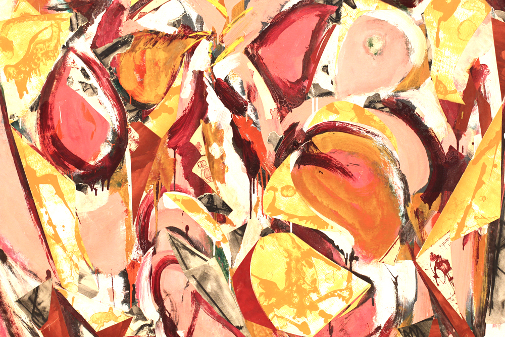 Vernal Yellow by Lee Krasner at Museum Ludwig, Cologne - travel & lifestyle blog