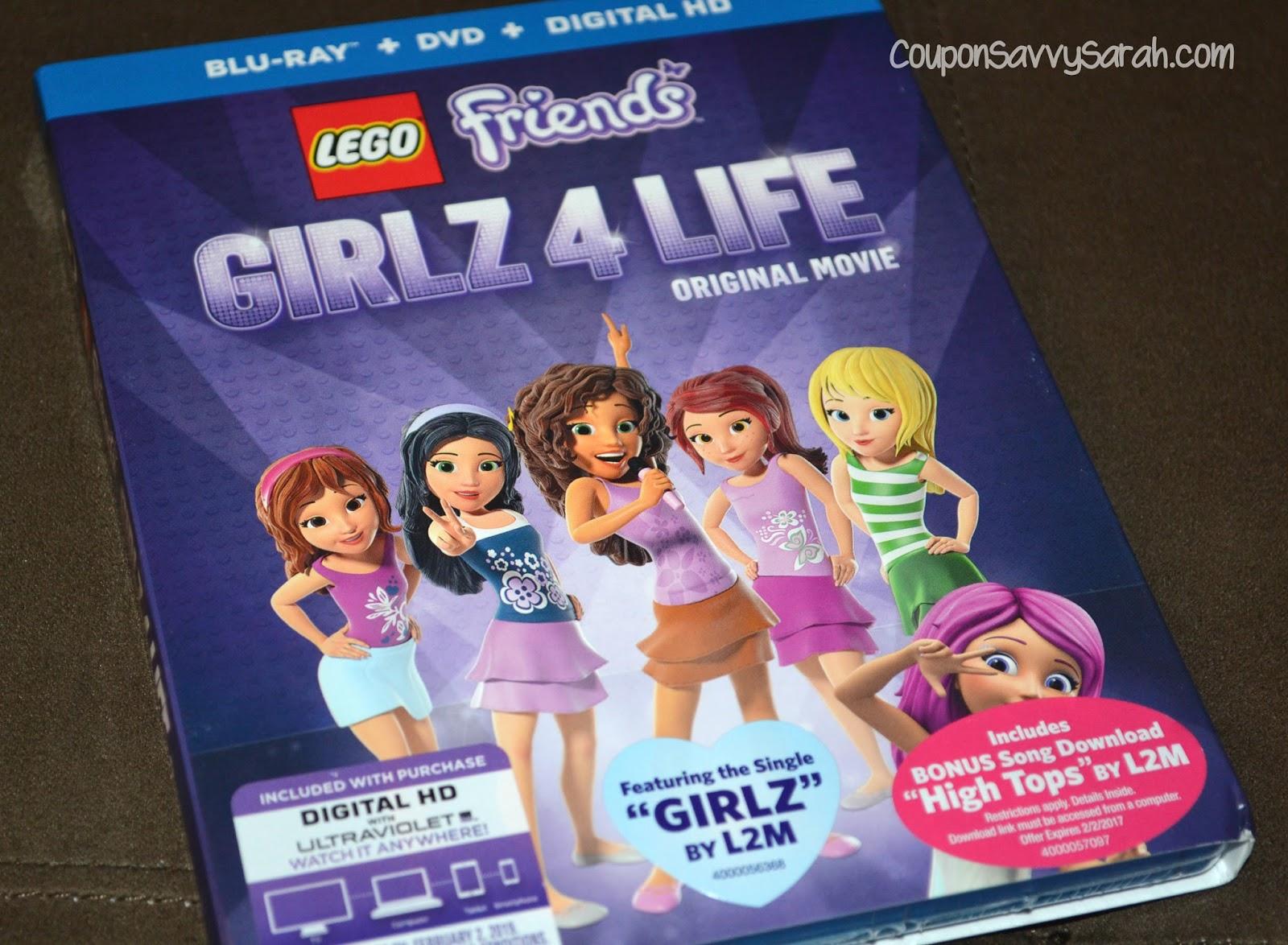 Coupon Savvy Sarah Lego Friends Girlz 4 Life Movie Now