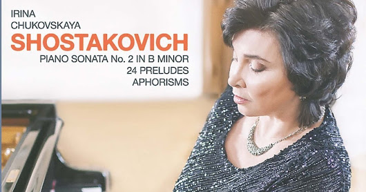 Pianist, Irina Chukovskaya provides an impressive recital for Melodiya of works by Shostakovich that are all too rarely heard