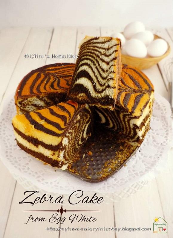 Resep Kue Dari Putih Telur : resep, putih, telur, Citra's, Diary:, Failproof, Zebra, Putih, Telur, Recipe, (from, Whites)