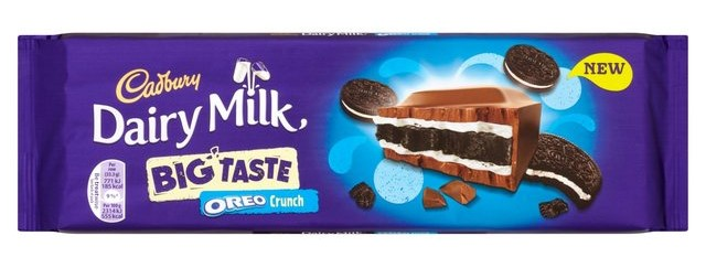Hot Chocolate Review Cadbury Dairy Milk Big Taste Oreo