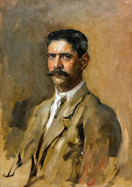 Armando García Menocal, Self Portrait, Portraits of Painters, García Menocal, Fine arts, Portraits of painters blog, Paintings of Armando García Menocal, Painter  Armando García Menocal