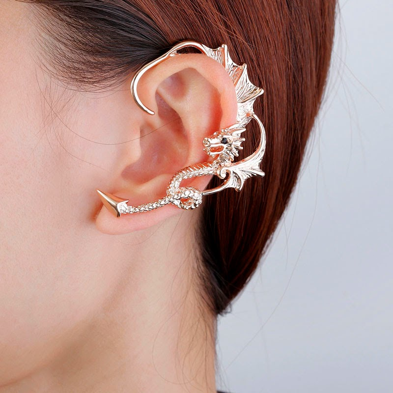 Alice Must Have These Four Trendy Ear Cuff Wrap Earrings