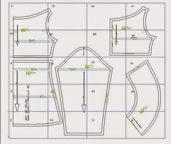 Patrón gratis vestido sencillo de punto
