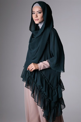 model hijab syar'i terbaru