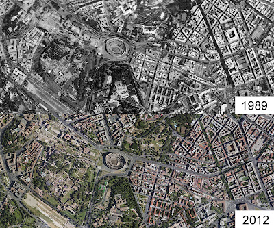 online aerial imagery Colosseum