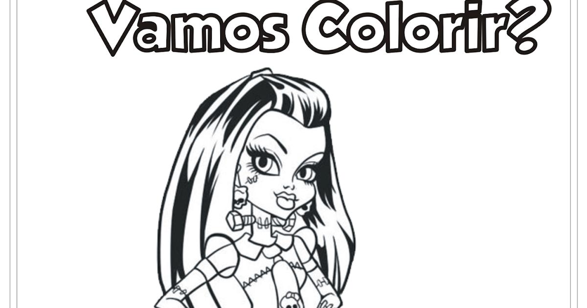 Desenhos Para Colorir Do Monster Legends