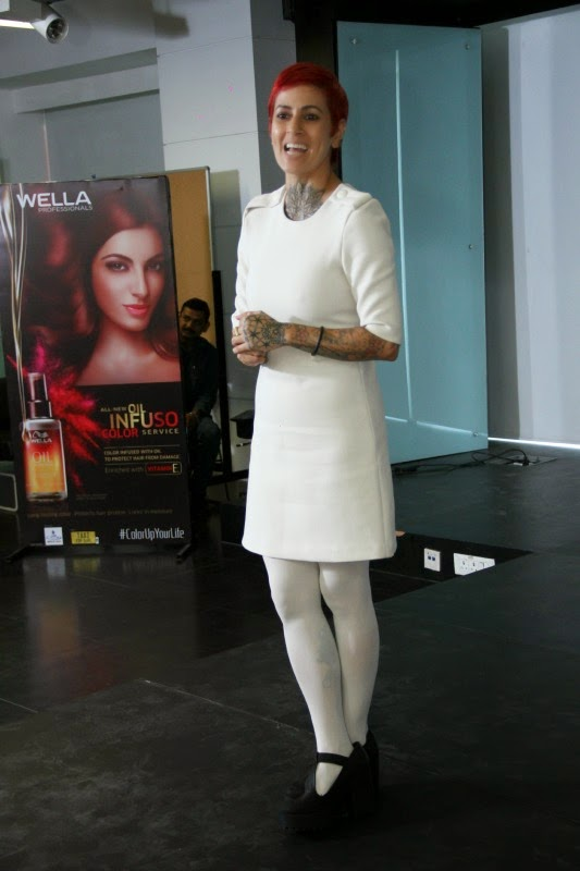 Sapna Bhavnani, Wella Bloggers Meet, Hair Myths, Hair Expert, Celebrity Fashion, Lifestyle Fashion Beauty Blog