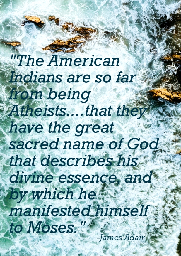 The American Indians knew the set apart name of YHWH! | Land of Honey