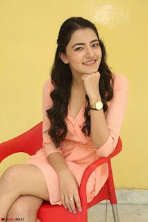 Rukshar Mir in a Peachy Deep Neck Short Dress 048.JPG