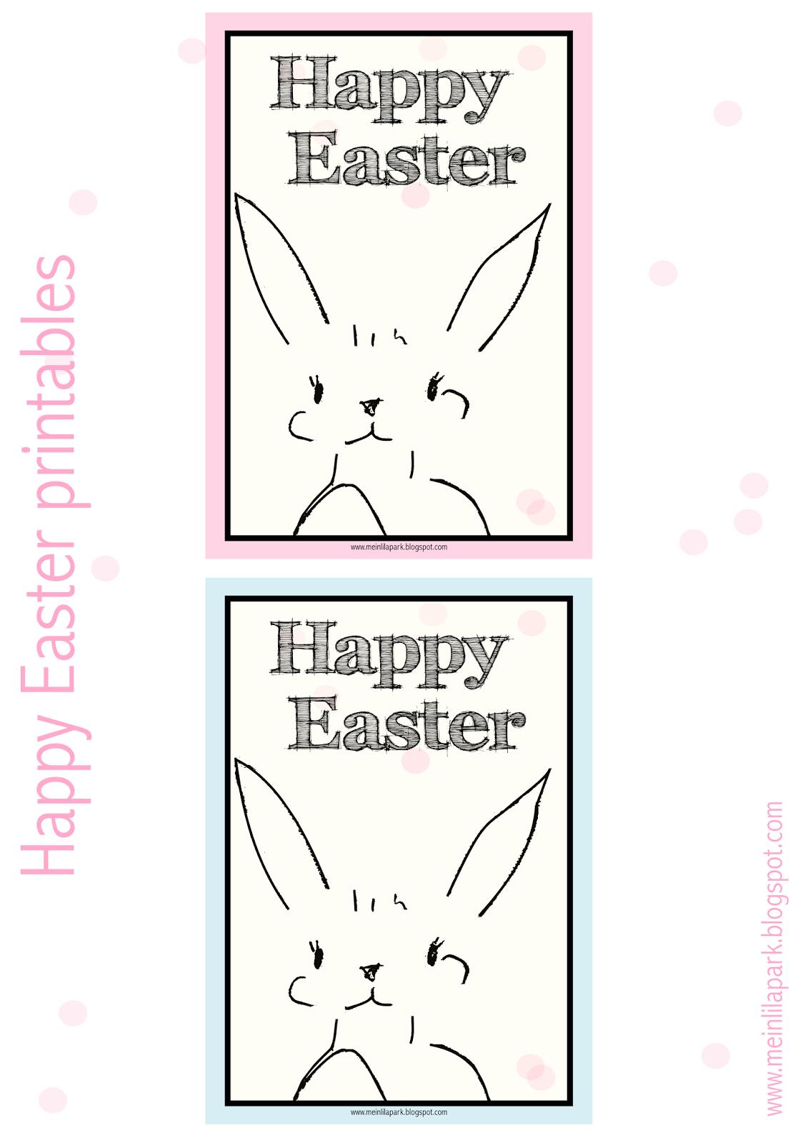 Free Printable Happy Easter Printables