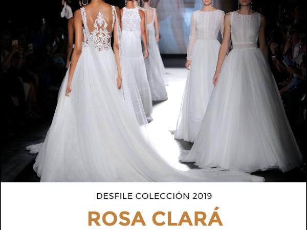 Rosa Clará Colección 2019 - Barcelona Bridal Week