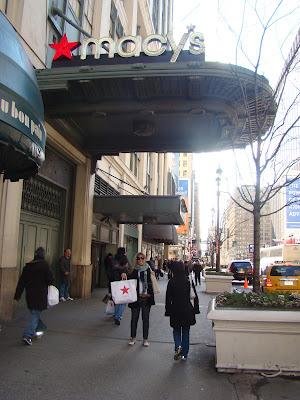 NEW YORK - DI NA MACY'S