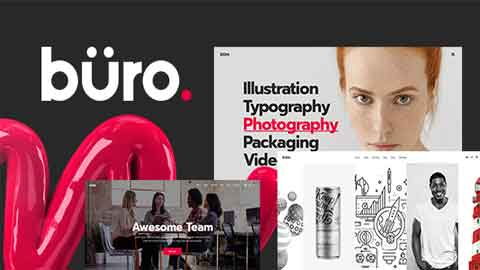 Buro v1.0 Ultimate Agency and Freelancer Theme