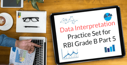 Data Interpretation Practice Set for RBI Grade B Part 5