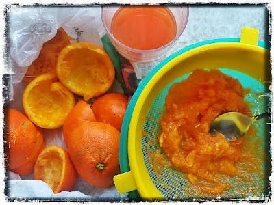 sok z mandarynki, pomarańczy