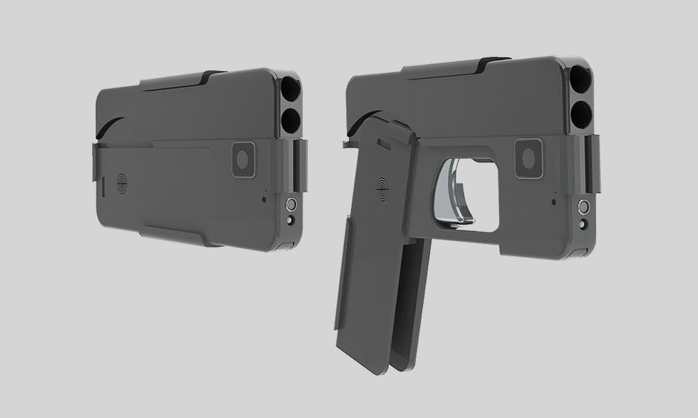Llega al mercado la pistola con apariencia de Smartphone.