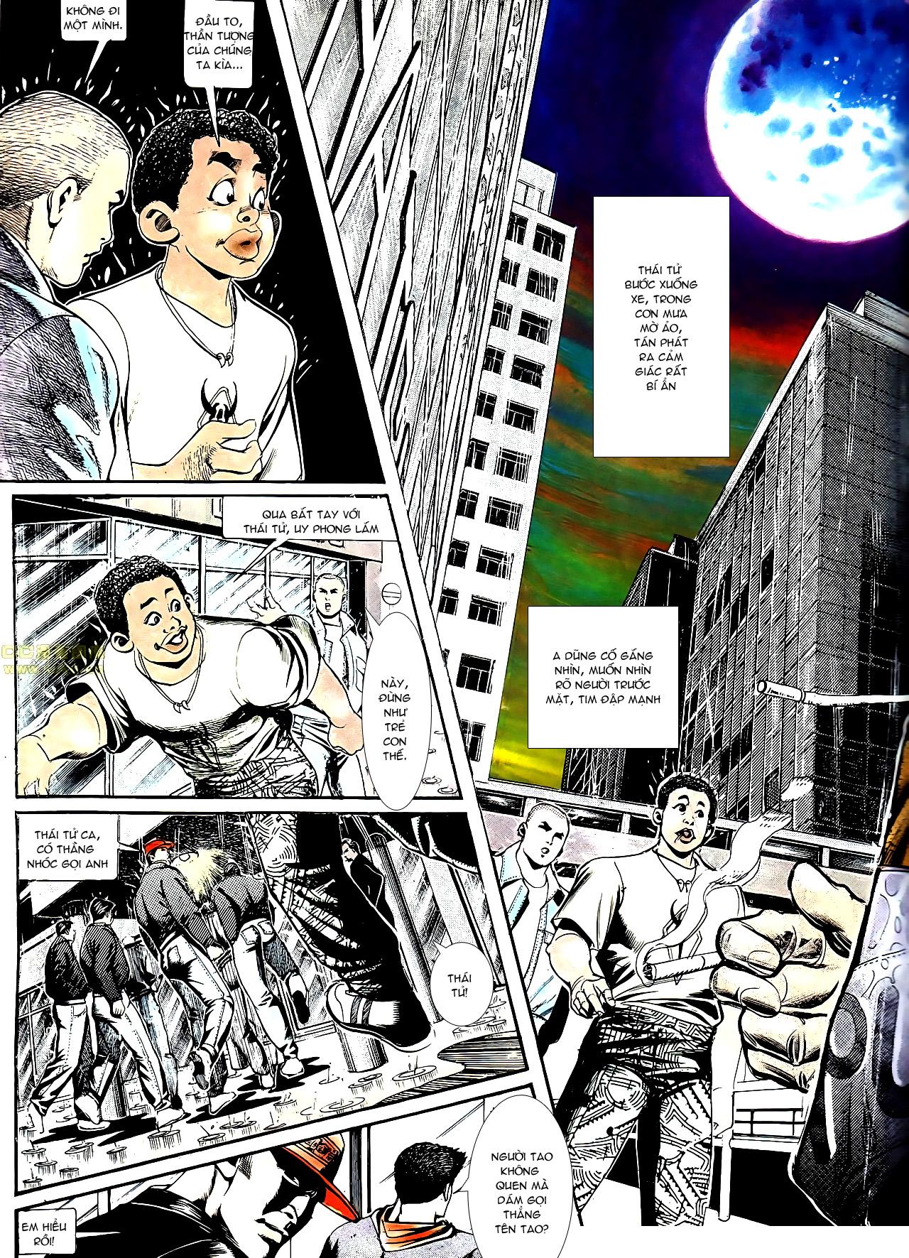 Người Trong Giang Hồ chapter 152: trăng sáng chiêm đông trang 15