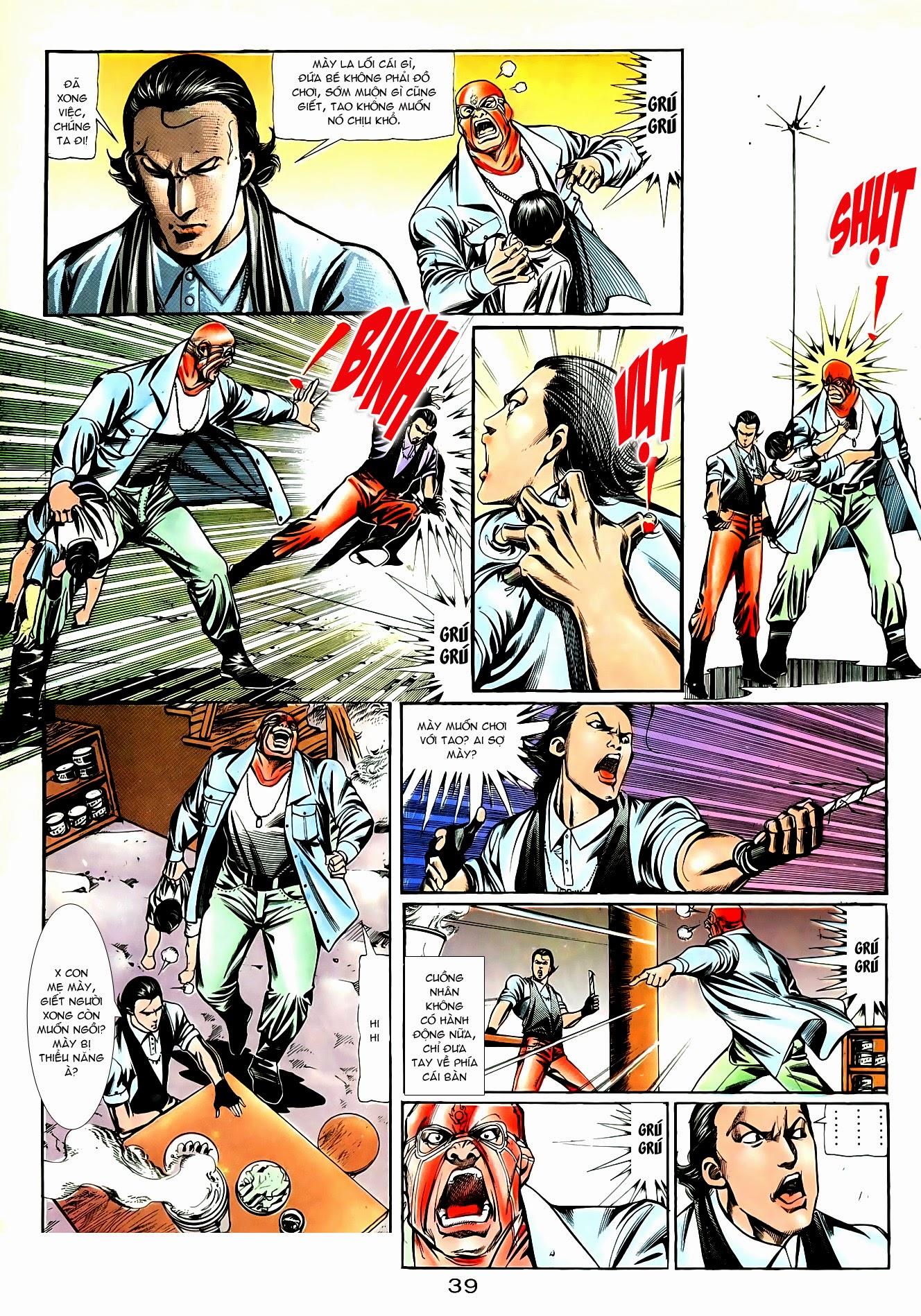 Người Trong Giang Hồ chapter 85: diệt môn trang 12