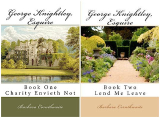 Book Covers: George Knightley Esquire duology by Barbara Cornthwaite