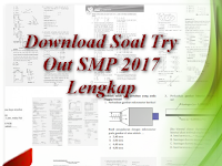 Download Soal Try Out SMP 2017 Lengkap