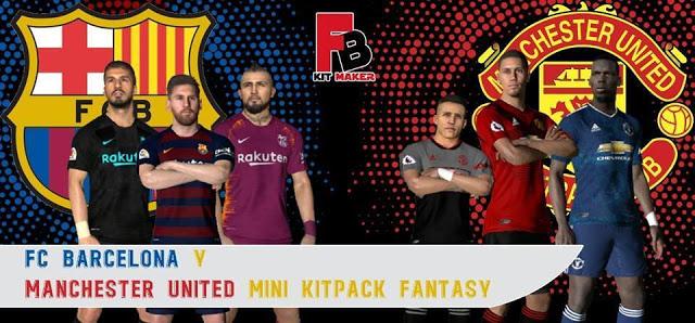 c94915935 PES 2017 Barcelona   Manchester United Fantasy Kits