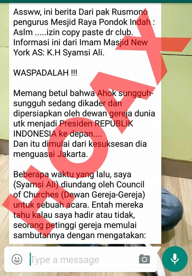 Stop Penyebaran Berita Hoax