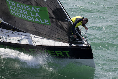 Cercle Vert sur la Transat AG2R.