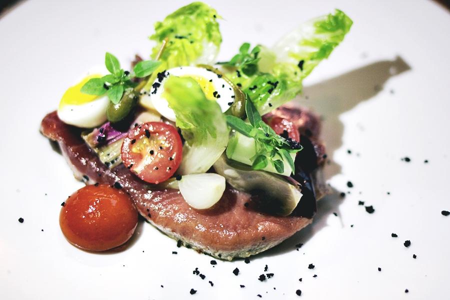 tuna fish starter