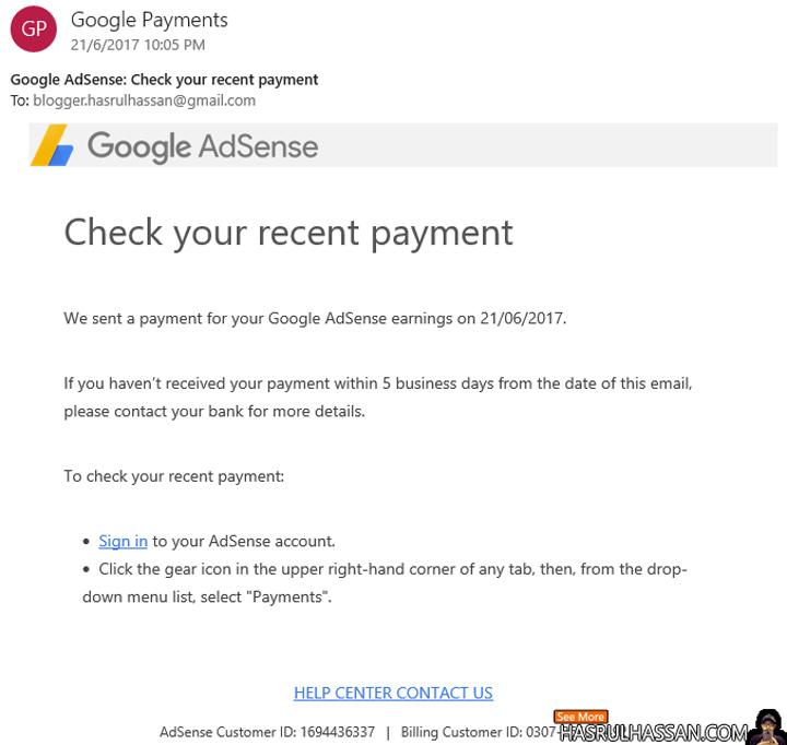 Adsense - Pilihan Ramai Penulis Online Hasilkan Income Pasif