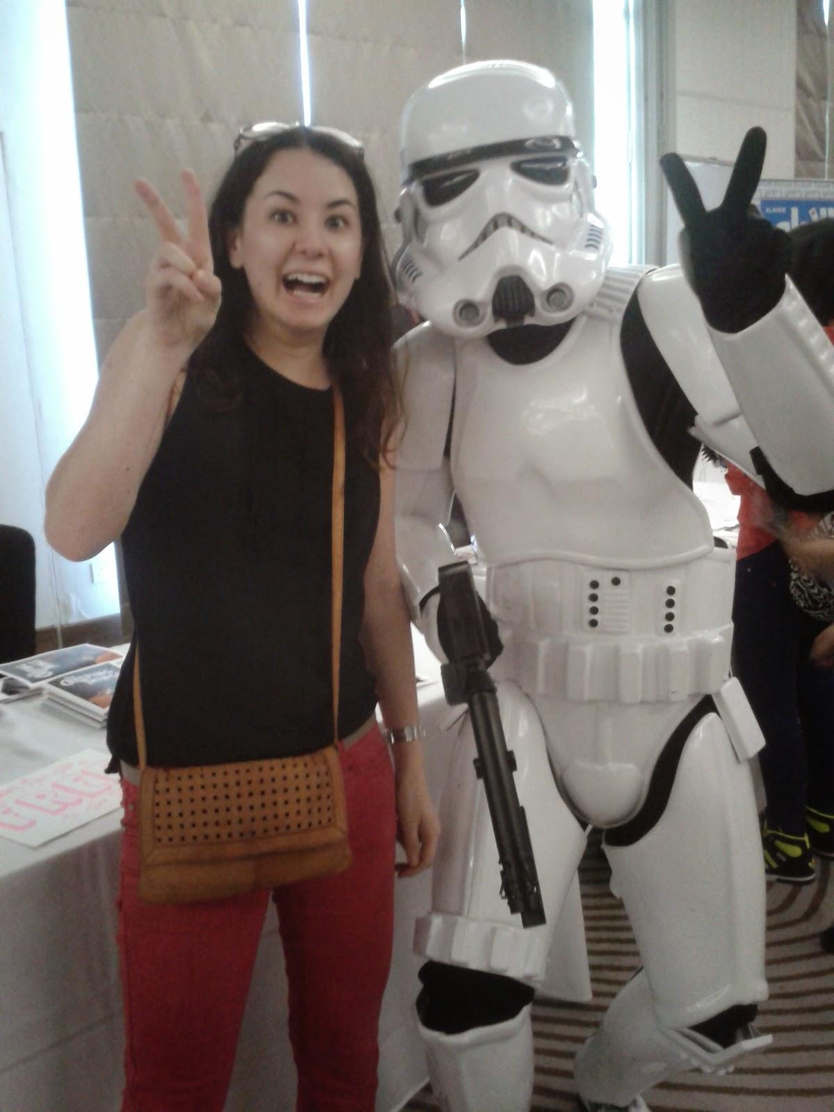 ComiX Bahrain stormtrooper blogging