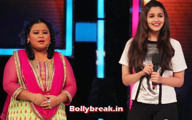 Bharti Singh and Alia Bhatt, Alia Bhatt on India's Got talent