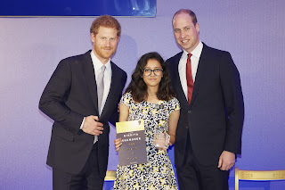 Greenwood High student wins 'The Diana Legacy Award' from Prince William and Prince Harry