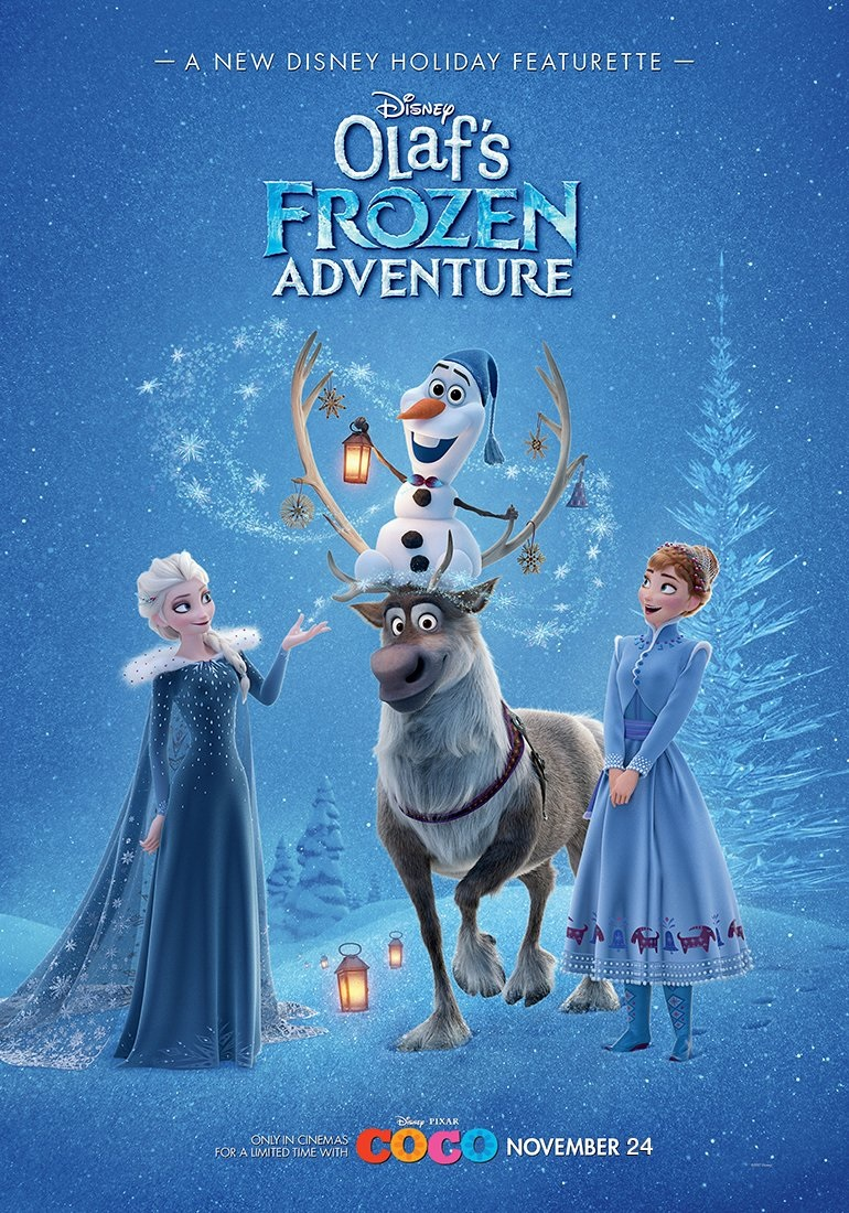 Olaf's Frozen Adventures - Short Movie Review