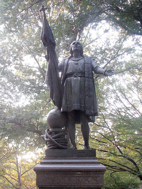 Christopher Columbus by Jeronimo Suñol, Central Park, New York