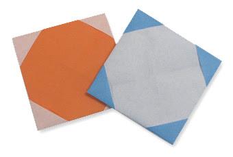 Cách gấp, xếp Khung Ảnh bằng giấy origami - Video hướng dẫn