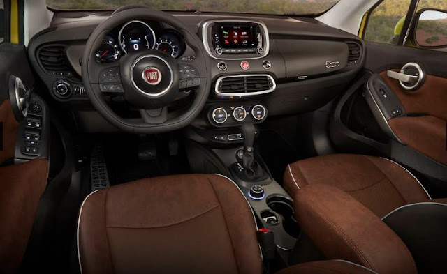 2016  INTERIOR LATEST Fiat 500X Trekking LATEST REVIEWS