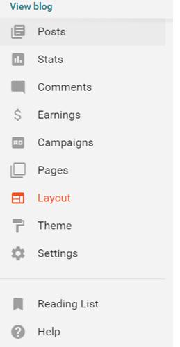 Step 3 Blog Settings