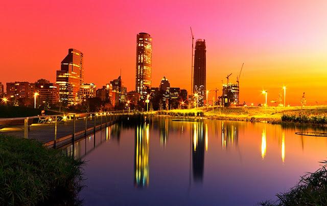 Santiago do Chile em setembro