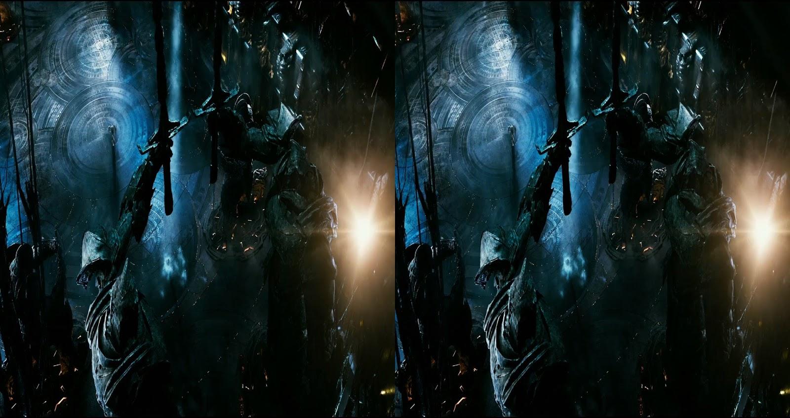 Transformers 5: El último Caballero (2017) 3D SBS 1080p Latino - Ingles captura 1