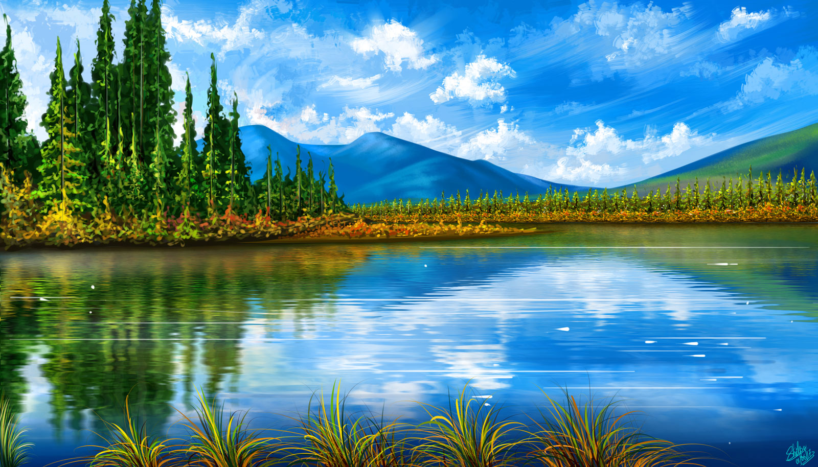 Shilpas art gallery nature and objects for these nature painting i took original reference and made a realistic digital paintingr all these painting ive used adobe photoshop and autodesk baditri Images