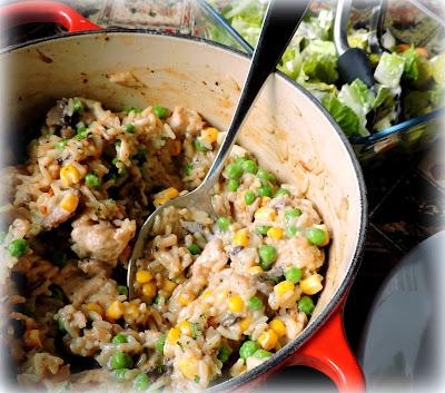 creamy turkey and rice