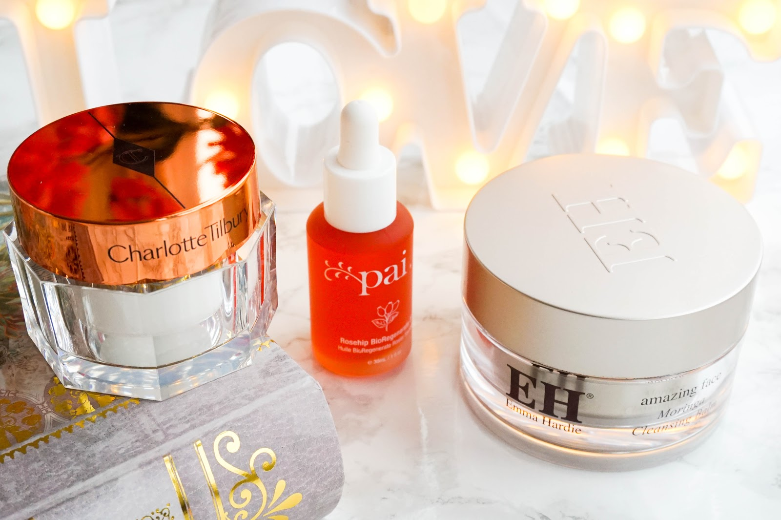 The Luxury Skincare Edit, Charlotte Tilbury, Emma Hardie, Pai Skincare
