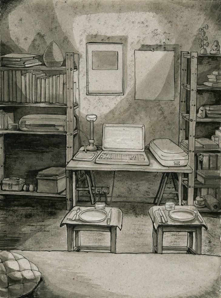 Una casa en la memoria # 6 by Marta Alonso Berná.