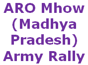 ARO Mhow, MP Army Bharti, Jabalpur Zone Rally
