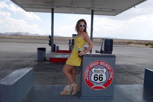 Honeymoon trip in the US: Route 66