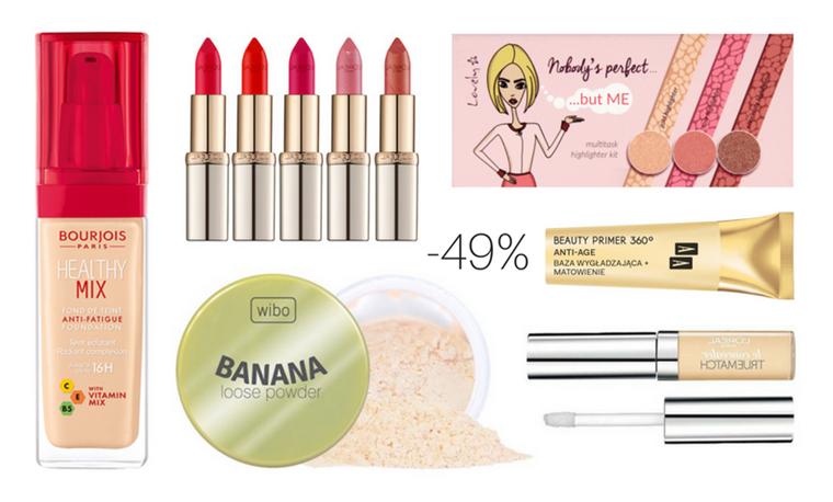 Rossmann -49% na kosmetyki do makijażu: Promocja kwiecień 2017 | Co warto kupić?