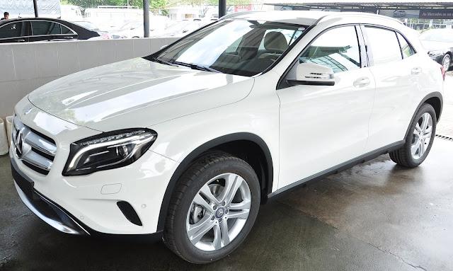 Mercedes GLA 200 thiết kế mạnh mẽ với phong cách hiện đại