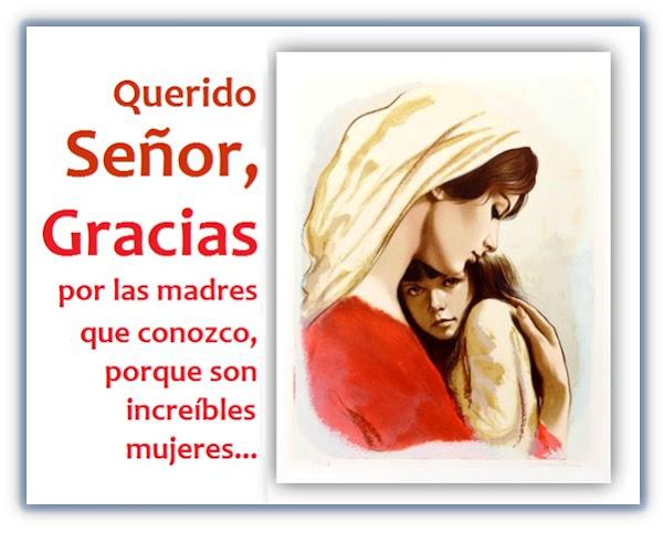 Oración por las Madres - Gracias Dios por cada una de ellas
